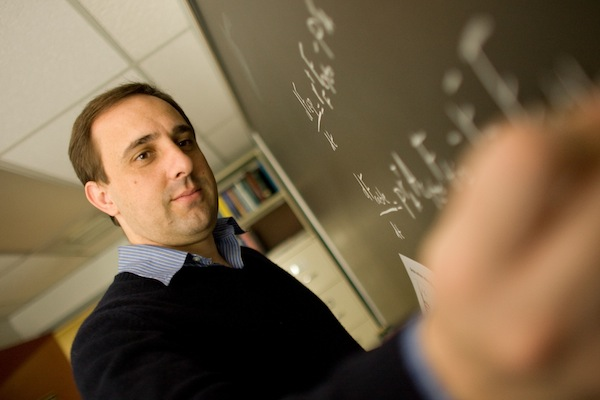 Lehigh University Physics - Demonstrating Physics on a chalkboard lecture