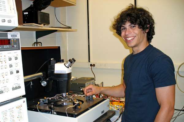 Lehigh University Physics - Student in REU program