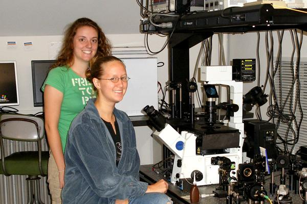 Students in engaged in REU (Research Experiences for Undergraduates) Program